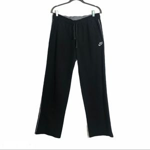 Nike black jogging workout pants large 12-14